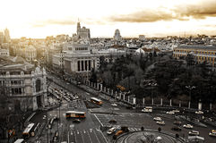 Madrid,Spain. General view of the city of Madrid in Spain Stock Photography