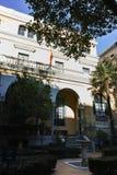Facade of Museum Sorolla in City of Madrid, Spain. MADRID, SPAIN - JANUARY 21, 2018: Facade of Museum Sorolla in City of Madrid, Spain royalty free stock images