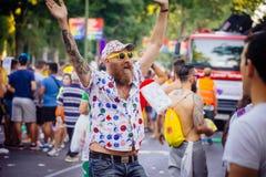 MADRID, SPAIN - JULY 6, 2016: Annual Madrid gay pride (Madrid Or Stock Images