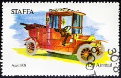Ajax 1908. The Ajax was a Swiss automobile built from 1906 to 1910