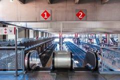 MADRID SPAIN - JUNE 23, 2015:  Atocha Station Stock Photos