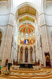 MADRID SPAIN - JUNE 23, 2015: Cathedral of Saint Mary Royalty Free Stock Image