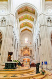 MADRID SPAIN - JUNE 23, 2015: Cathedral of Saint Mary Royalty Free Stock Photography