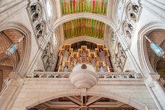 MADRID SPAIN - JUNE 23, 2015: Cathedral of Saint Mary Royalty Free Stock Photos