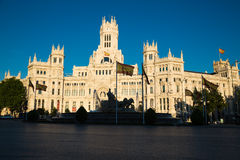 Madrid, Spain - 15, JUNE, 2014 Plaza de Cibeles, Madrid, Spain Royalty Free Stock Photography