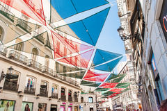 MADRID SPAIN - JUNE 23, 2015: Puerta del Sol Royalty Free Stock Image