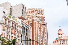 MADRID SPAIN - JUNE 23, 2015:  Spain buildings Royalty Free Stock Image