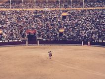 Madrid Spain Las Vendas Bull Fight Royalty Free Stock Photo
