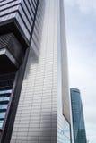 Cuatro Torres Business Area (CTBA) building skyscraper, in Madri stock images