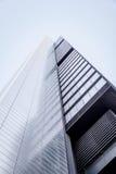 Cuatro Torres Business Area (CTBA) building skyscraper, in Madri royalty free stock photos