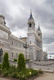 MADRID, SPAIN - MAY 28, 2014: Cathedral Santa Maria Stock Photo