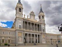 MADRID, SPAIN - MAY 28, 2014: Cathedral Santa Maria Royalty Free Stock Photography