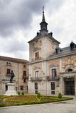 MADRID, SPAIN - MAY 28, 2014: Government buildings in old Madrid center Stock Photos