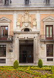 MADRID, SPAIN - MAY 28, 2014: Government buildings in old Madrid center Royalty Free Stock Image