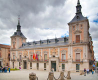 MADRID, SPAIN - MAY 28, 2014: Government buildings in old Madrid center Stock Photo