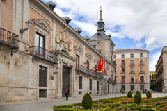 MADRID, SPAIN - MAY 28, 2014: Government buildings in old Madrid centre Stock Photography