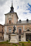 MADRID, SPAIN - MAY 28, 2014: Government buildings in old Madrid centre Royalty Free Stock Photography