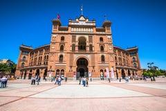 Madrid,Spain-May 5,2015: Las Ventas Bullring in Madrid, Spain Stock Image