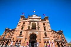 Madrid,Spain-May 5,2015: Las Ventas Bullring in Madrid, Spain Royalty Free Stock Images