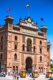 Madrid,Spain-May 5,2015: Las Ventas Bullring in Madrid, Spain Royalty Free Stock Photography