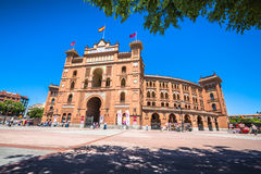 Madrid,Spain-May 5,2015: Las Ventas Bullring in Madrid, Spain Royalty Free Stock Image