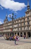 MADRID, SPAIN - MAY 28, 2014: Plaza Mayor Stock Image
