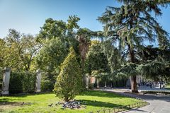 Royal Botanical Garden of Madrid Stock Photography