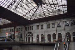 Principe Pio Station former Estación del Norte, Madrid royalty free stock image
