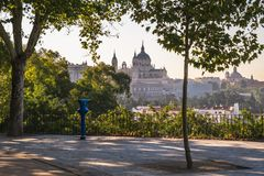 Madrid, Spain - October 5th 2018 royalty free stock photo