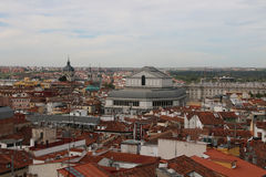 Madrid, Spain. Panorama of the City Stock Photo
