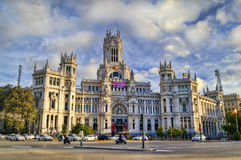 Madrid, Spain. Plaza de Cibeles, Madrid, Spain Stock Photography