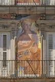 Madrid Spain:  Plaza Mayor Royalty Free Stock Images