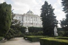 Madrid Spain: Royal Palace Stock Photography