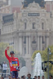 MADRID, SPAIN - SEP 9th 2012: Vuelta 2012 Stock Images