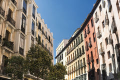 Madrid Spain:  a street Stock Images