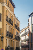 Madrid Spain:  a street Royalty Free Stock Photography