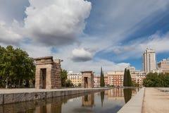 Madrid, Spain - The Temple of Debod Templo de Debod Royalty Free Stock Photo