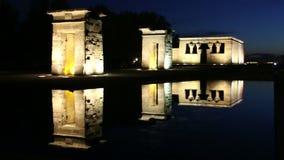 Madrid, Spain Templo de Debot filme