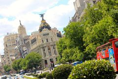 Madrid, Spain Tourism Stock Photo