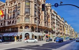 Madrid Spain stock photo