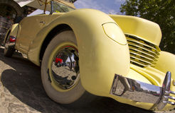 MADRID, SPANIEN - 3. JUNI: Ereignis-Party-altes klassisches Auto Lizenzfreie Stockfotografie