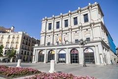 Madrid Spanien royaltyfri fotografi