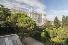 Madrid Spanien Arkivfoto
