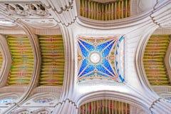 MADRID SPANIEN - JUNI 23, 2015: Domkyrka av St Mary Royaltyfri Bild