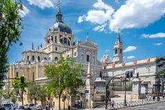 Madrid, Spanien - 17. Juni: La Calatravas-Kirche, Madrid, Spanien, E Stockbilder