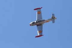 Madrid Spanien. Oktober 5, 2008. Piloten dör i krasch visar på a Arkivbilder