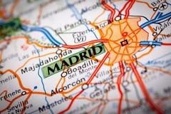 Madrid, Spanje stock fotografie