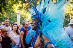 MADRID, SPANJE - JULI 6, 2016: De jaarlijkse vrolijke trots van Madrid (Madrid of Royalty-vrije Stock Afbeelding