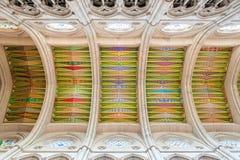 MADRID SPANJE - 23 JUNI, 2015: Kathedraal van Heilige Mary Stock Afbeeldingen