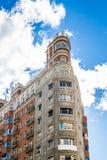 Madrid sreets Stock Image